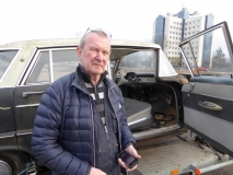 Björn Gossas som åkte i bilen när den krockades 1965
