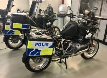 Avplockade BMW ____ får de polisiära systemen monterade