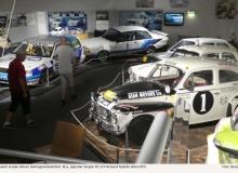En del av museet visade Volvos tävlingsverksamhet. Bl.a. Joginder Singhs PV och Rickard Rydells Volvo 855