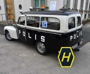 Volvo Duett -67 Polis